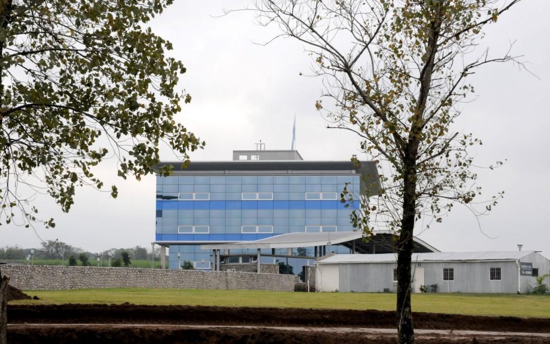 Estructura de HºAº y albañilería Parque Empresarial