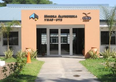 New offices in a filtering plant, Alumbrera Mine, Cruz Alta County